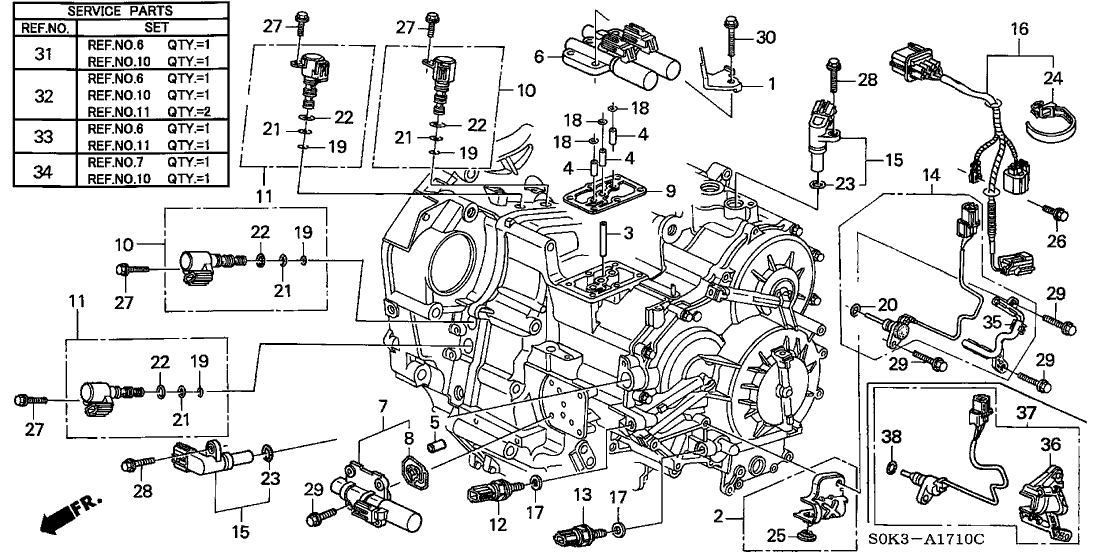 2001 Acura Tl Transmission Diagram on 1998 acura cl engine diagram