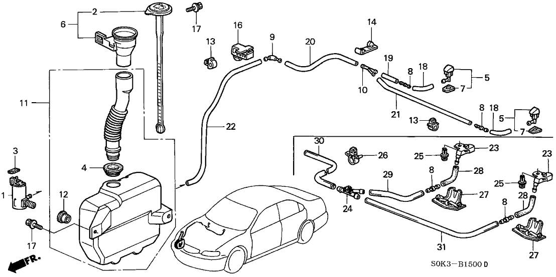 windshield washer diagram cigarette lighter diagram