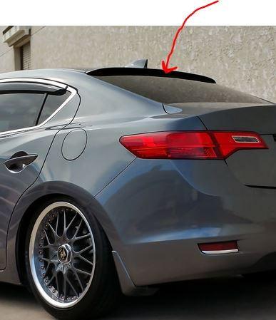 Roof Spoiler/Visor for 2016 ILX - AcuraZine - Acura Enthusiast Community