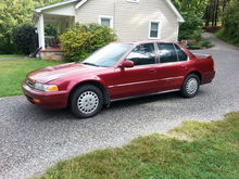 **ALL ORIGINAL--1992 ACCORD LX WITH 300,000 MILES!!**