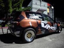 VMS Racing race car