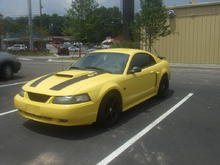 my 2nd stang in the Maaco lot ready for paint