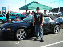 My Cobra and I at FFW 2007...