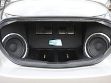 Finished trunk - two Celestra RA275 - one for each front door speaker,