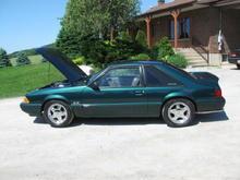 Mustang 5.0L 1991 Emerald Green