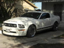 ''EL WHITE PONY''