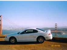 Pictures in San-Fran, the first Road Trip I ever took in this wonderful car.
