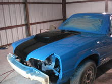 Fresh paint. Got paint code from 2010 shelby gt 500