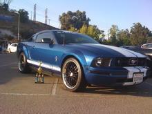 My 2006 Vista Blue Pony