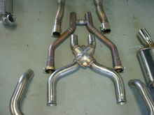Exhaust comparisons.