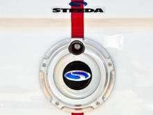 08Steeda TrunkBadge