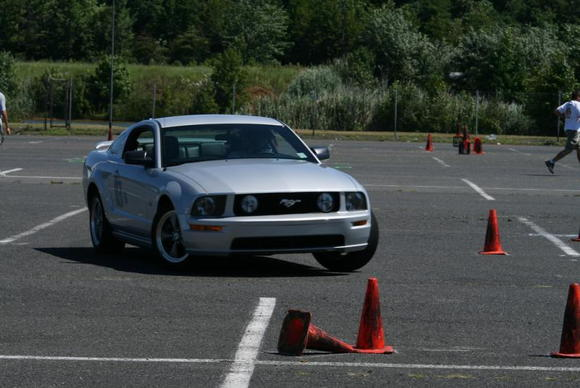 AutoX Mustang2