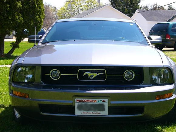 Pony package grille, my personal favorite