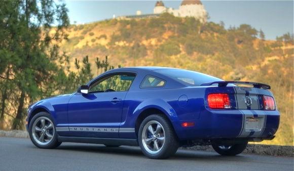 Mustang stripe