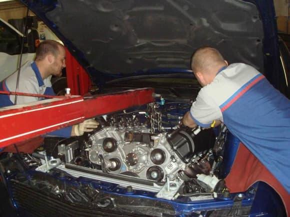 installing new engine