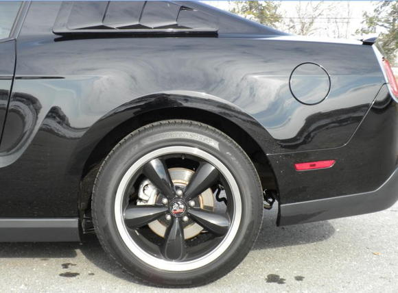 Rear closeup
