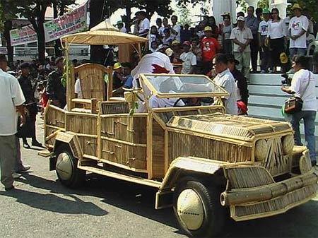 bamboo car
