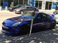 My Daytona blue z