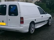 FOR SALE ESCORT VAN