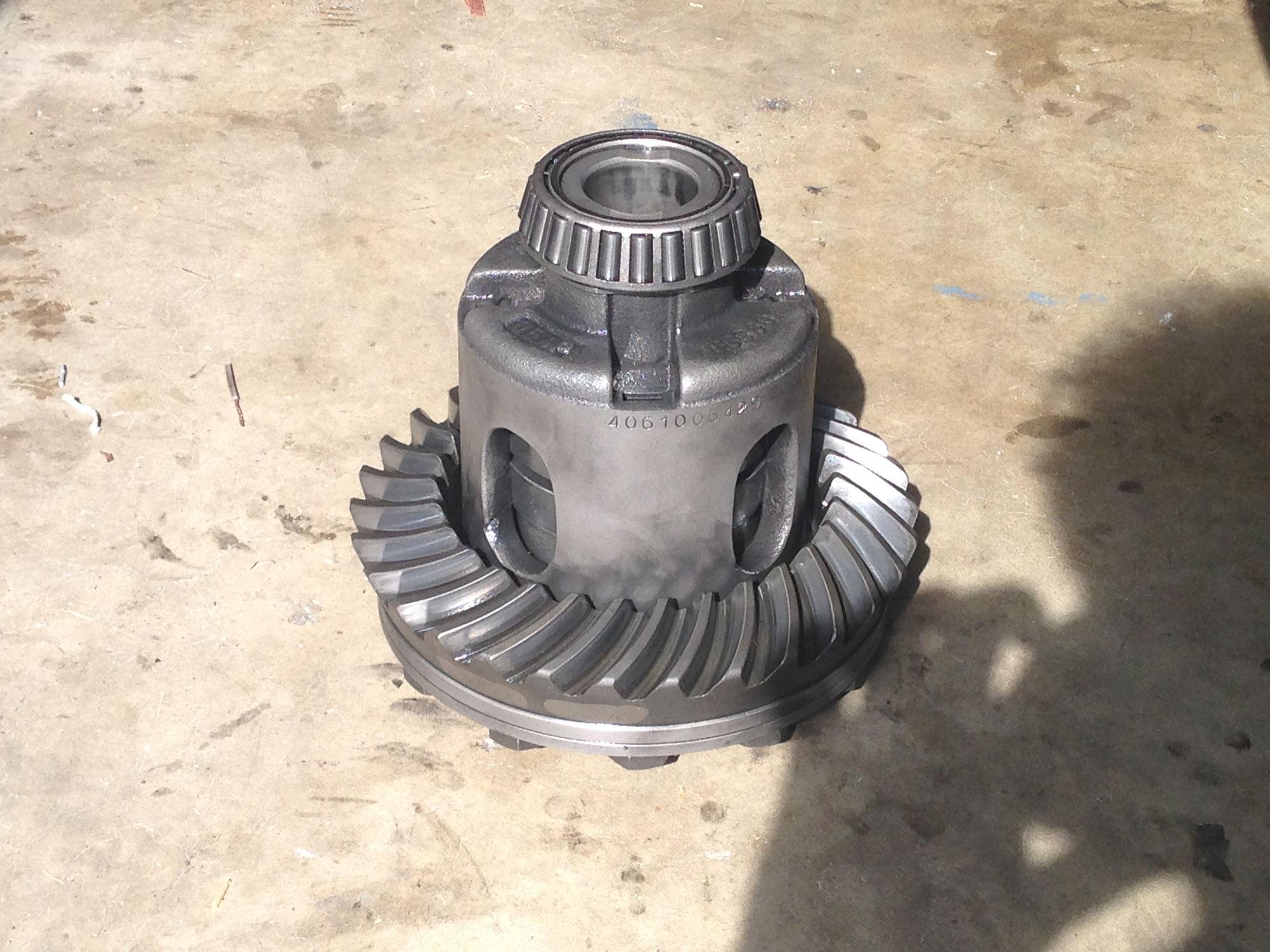 Stripped stub axle bolt