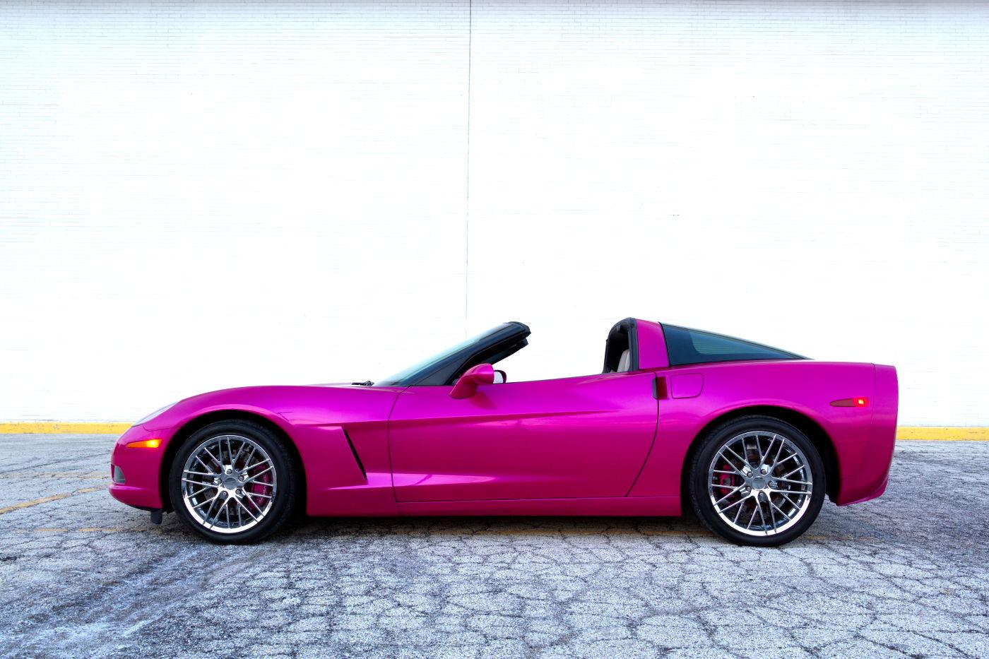 Fs 2006 C6 Corvette Hot Pink Chicago Camaro5 Chevy
