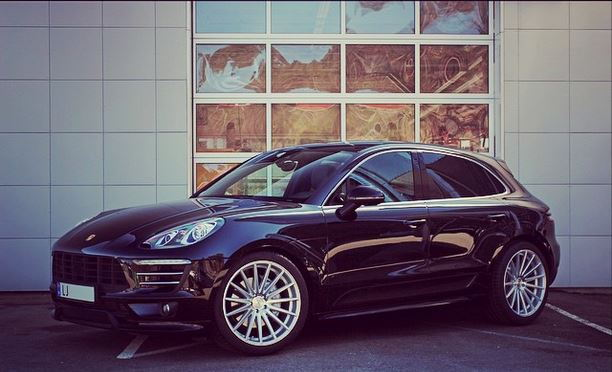 Porsche Macan S/Turbo Electronic Lowering Module by H&R In Stock