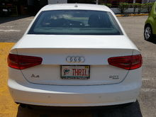 My 2013 Audi A4 Premium Plus package