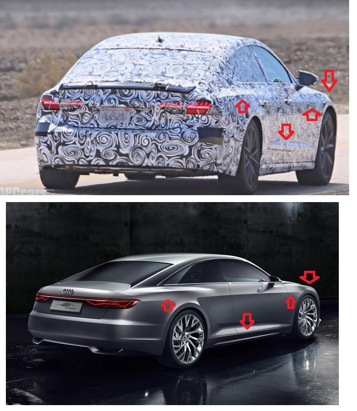 2018 Audi A7 Spied