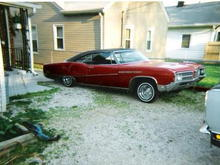 1 of my old lowriders a 1968 buick lesabre