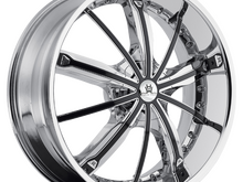 Hipnotic 360 Chrome Wheels