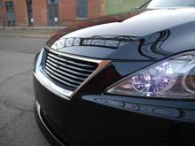 LX Mode grile, LED parking lights