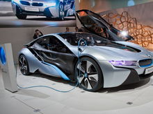 BMW i8 Concept front