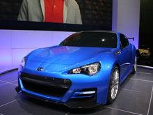 Subaru BRZ Concept STI fron