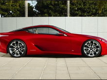 Lexus LF-LC Concept Photos