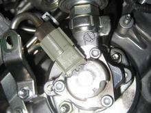High pressure fuel pump bank 2