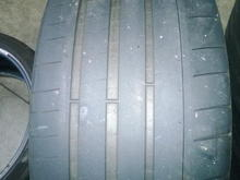 Rear tire OEM size