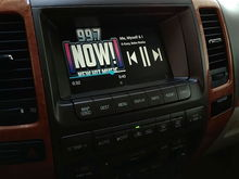 VLine in Lexus GX470 2007, music media screen
