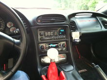 Love that shifter and the clean interior!