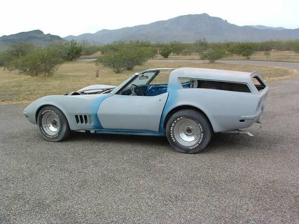 1969 Corvette With Rare Sport Wagon Option