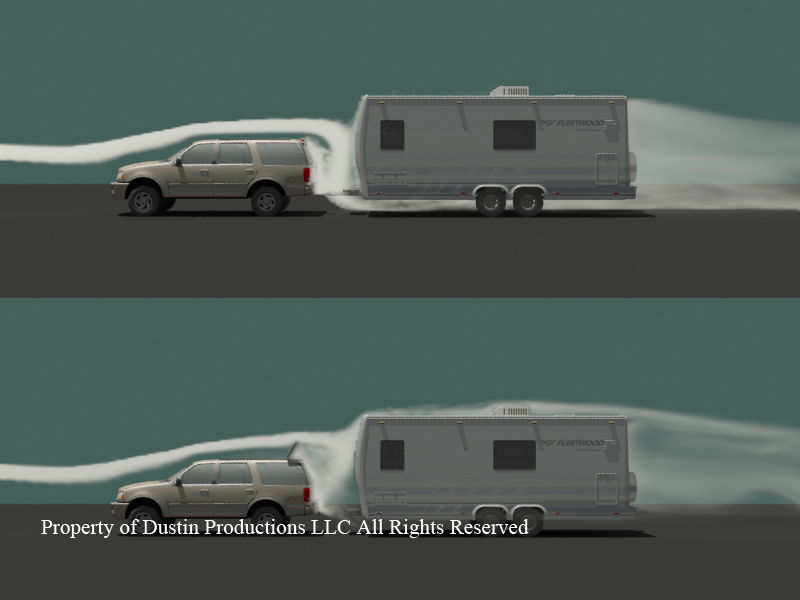 RV.Net Open Roads Forum: Towing: V-Nose Towing Theory