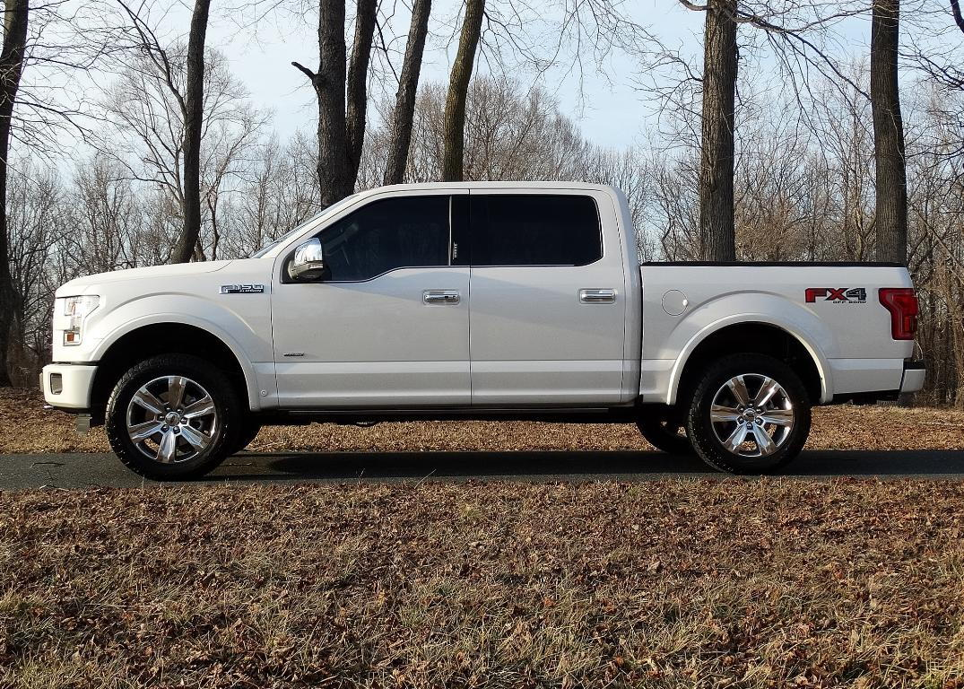"""1.5 Leveling Kit F150 >> 1.5"""" vs 2"""" leveling kit on a 15' 4x4 - Ford F150 Forum - Community of Ford Truck Fans"""