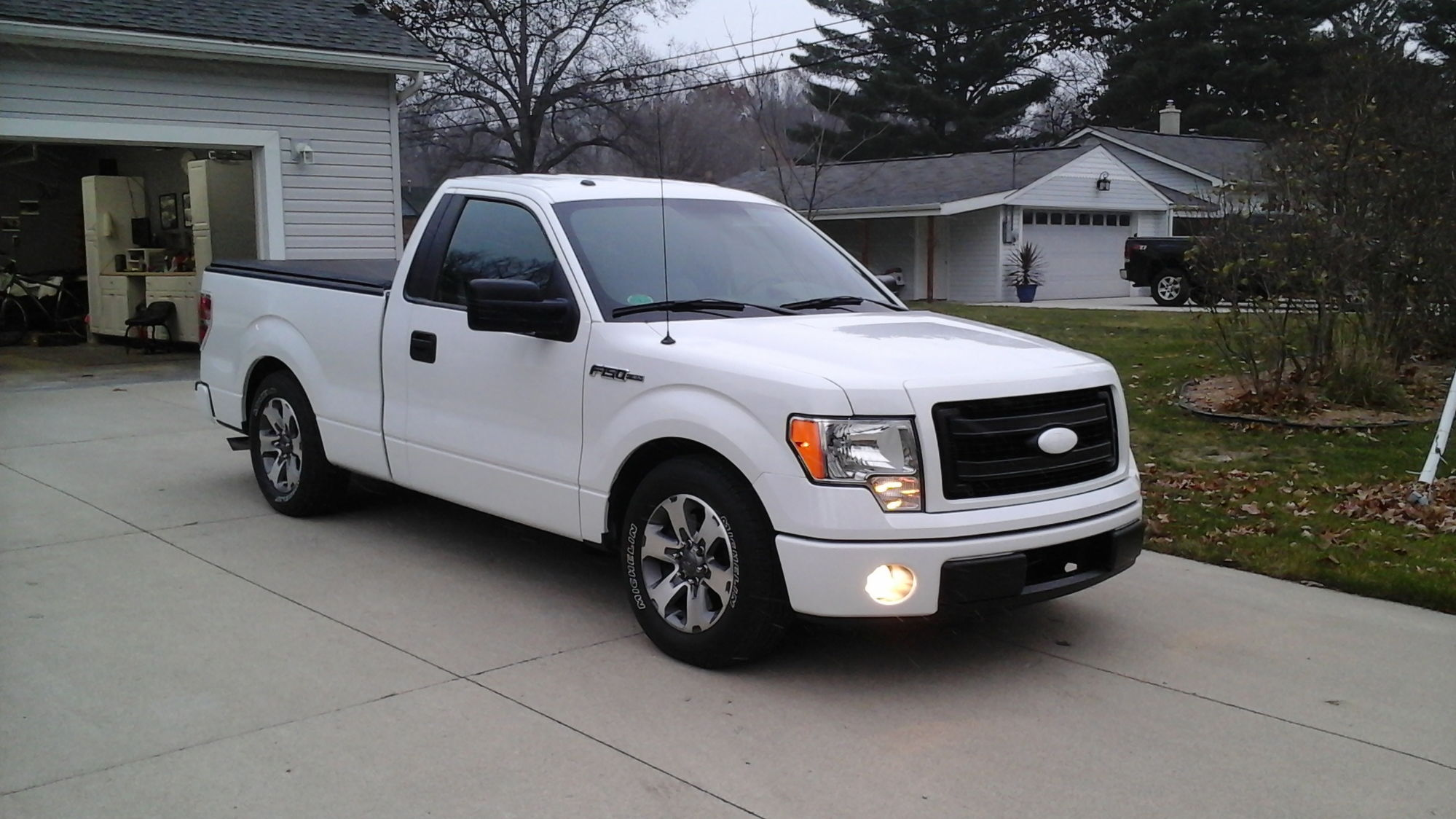 F150 Drop Spindles : Dropped trucks with stock wheels show them off page