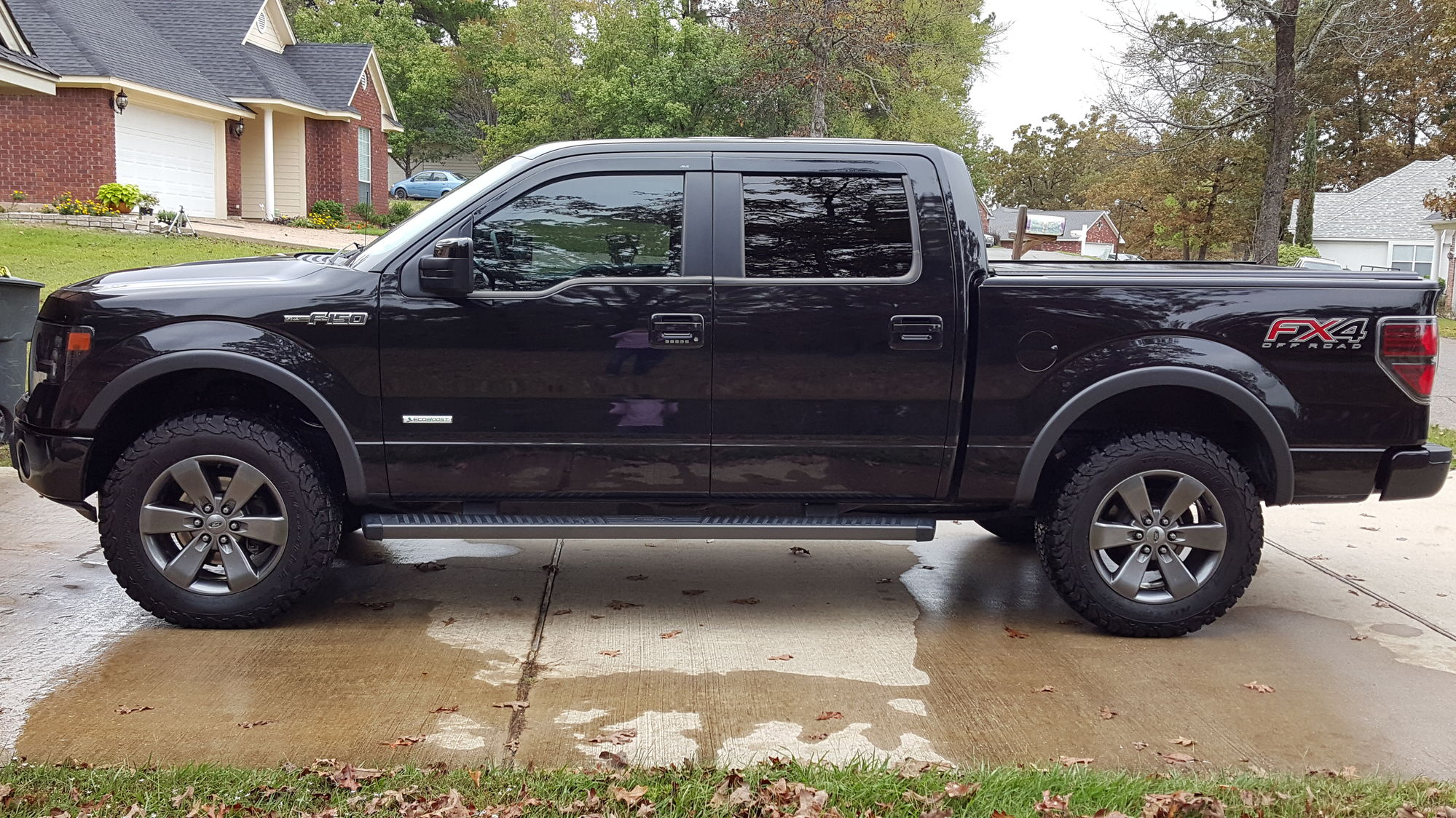 2013 14 fx4 leveling and tire size ford f150 forum community of ford truck fans