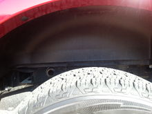 ford wheel well liners