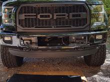 Bumper mounted Led Flush Mount Lights