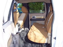 Interior Image  Carhartt seat covers for rear seat