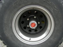 Wheel and Tires Image  front tires- old BFG all terrain, rear- mismatch all terrains