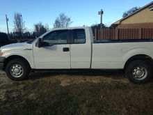 "2011 5.0 super cab, long bed, 3.73 limited slip rear differential 4x4, HD tow package. Call her the ""White Whale"""