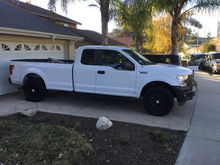 2016 F 150 XL 5.0 4x4 Super Cab Long Bed
