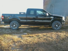 My truck when I got the ultra baron rims.